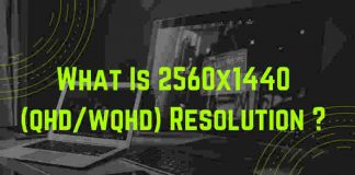 what is 2560 x 1440 qhd wqhd 2k resolution