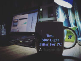 Blue light filter for pc