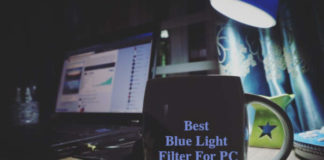 Blue light filter for pc