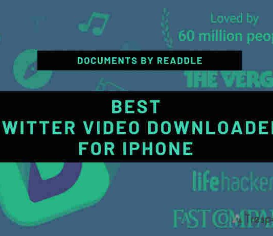 twitter video downloader app for iPhone