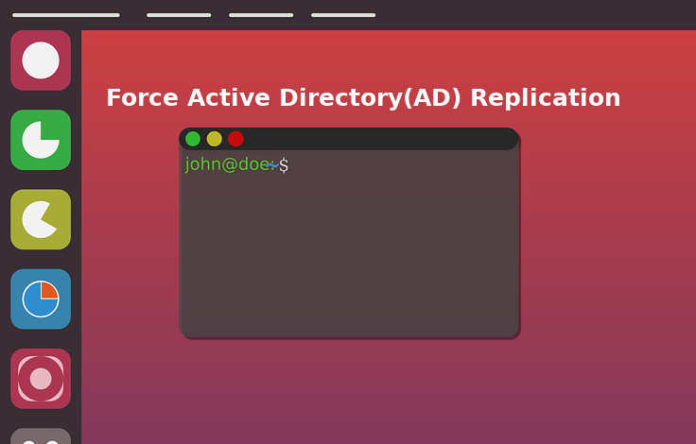 force ad replication