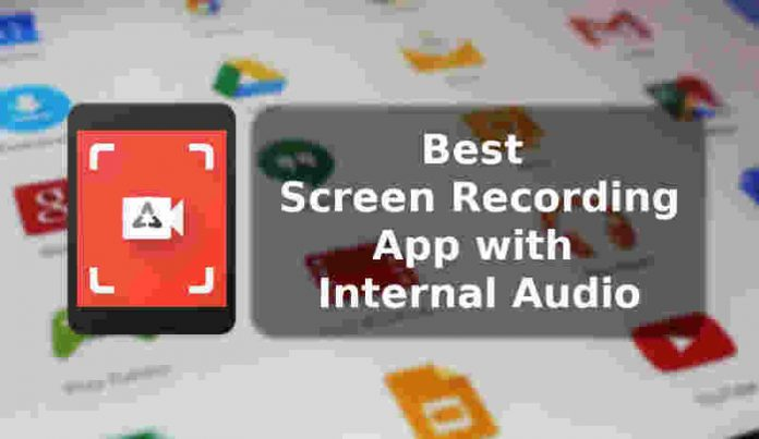 best screen recording app with internal audio
