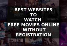 free streaming of movies no sign up