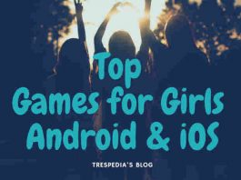 top android and iphone games for girls