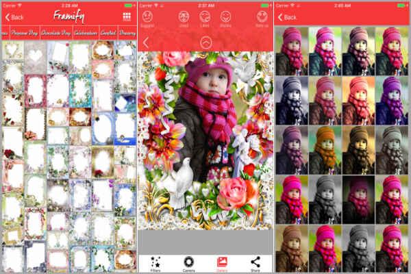 Framify photo frame app