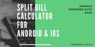 split bill calculator app android iphone