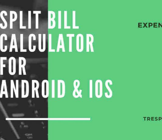 split bill calculator app android iphone