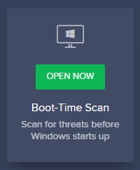 Boot-Time scan