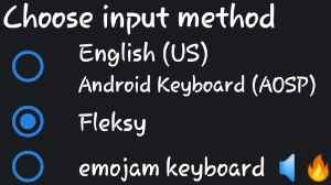 How to switch keyboard