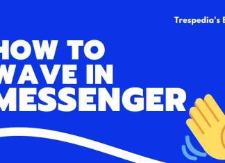 How to wave in messenger