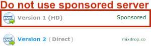 Primewire sponsored link